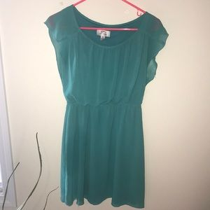 Sweet Storm Green Dress